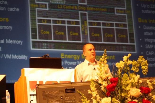Jeff Stuecheli talks on IBM's Power 8