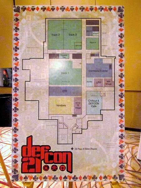 How Def Con is set up