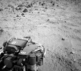 A view from NASA's Mars Rover