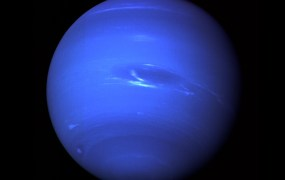 Image of Neptune captured by Voyager 2 in 1989.