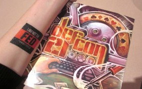 Feds were not invited to this year's Def Con and there were temporary tatoos to prove it.