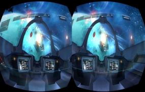 The VR versions of Strike Suit Zero for Oculus Rift.