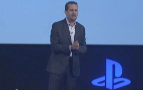 """Your Xbox One is so fat that it needs to have two internal clocks for each time zone it's in."" OK, maybe he didn't say this, but Sony PlayStation 4 chief Andrew House did take some digs at Microsoft."