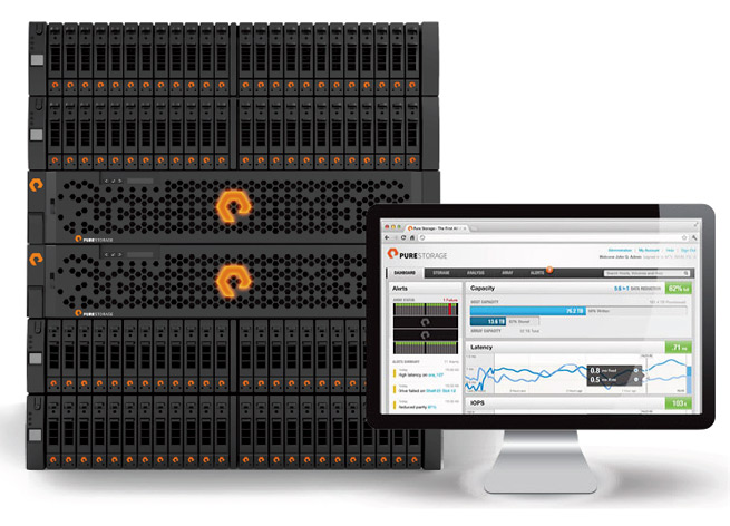 Pure Storage's all-flash array