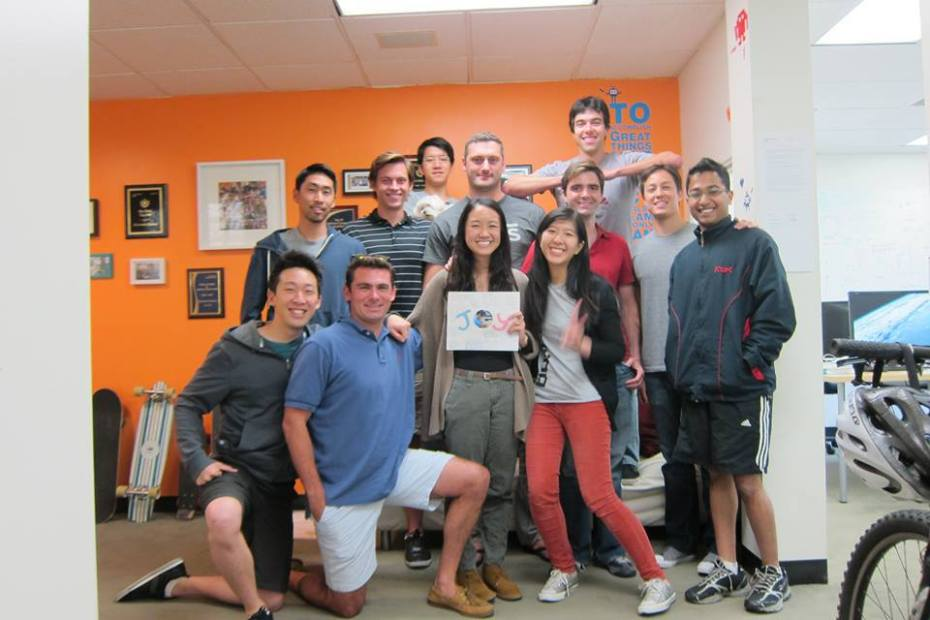The Retention Science team at the Santa Monica, Calif.-based offices