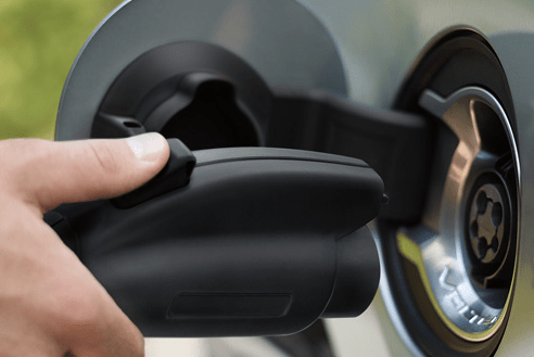 chevy volt plug-in port