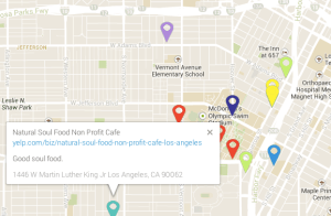 One project helps south LA residents find healthy and affordable restaurants