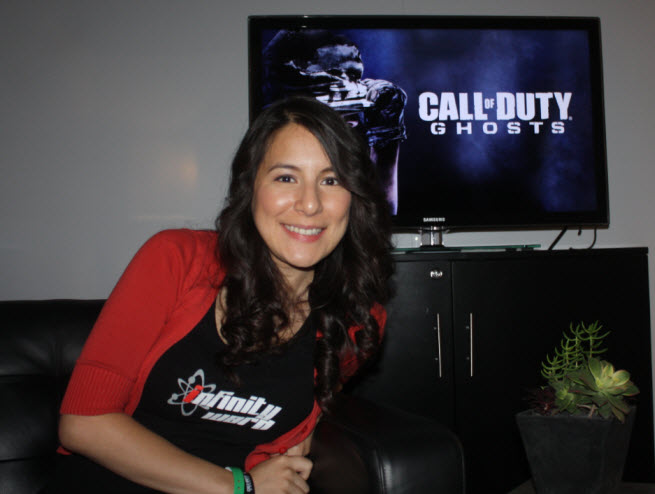 Infinity Ward community manager Tina Palacios