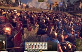 Total War: Rome II gameplay in action.