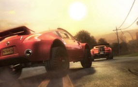 Ubisoft's next-gen racer The Crew in action.