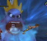 A boss fight with The Little Mermaid's Ursula in Kingdom Hearts HD 1.5 Remix.