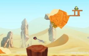 Young Anaking Skywalker birds from Angry Birds Star Wars 2.