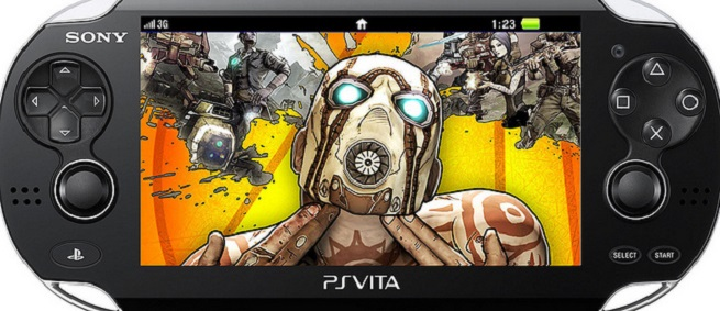 Borderlands 2 on PS Vita