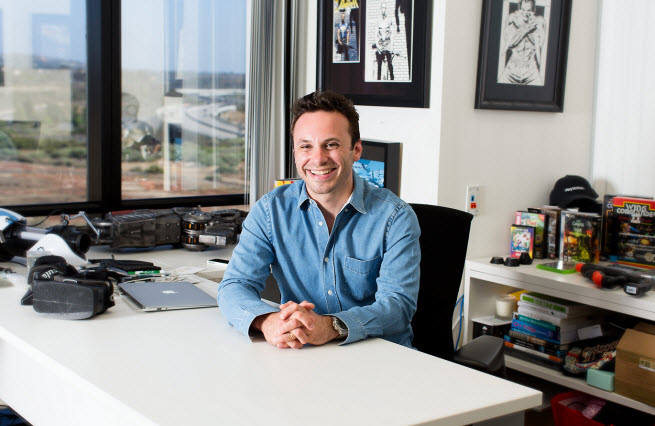 Brendan Iribe, CEO of Oculus VR