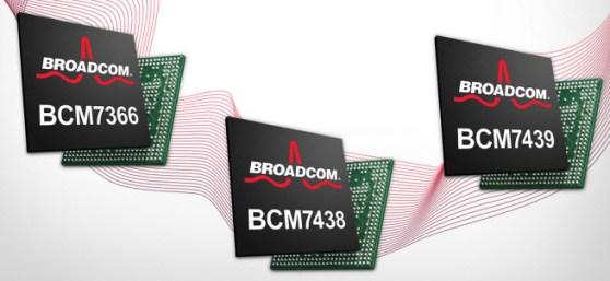 Broadcom HEVC chipsets
