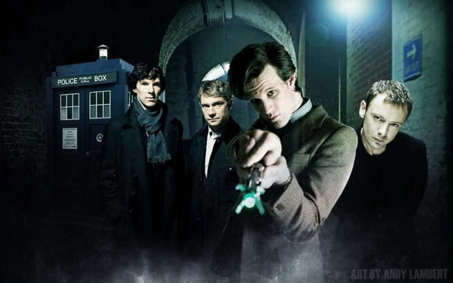 Doctor Who-Sherlock