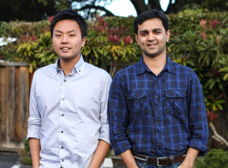 Shopular founders Tommy Tsai and Navneet Loiwal.