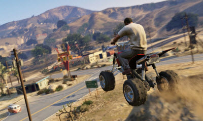 GTA V Trevor on ATV