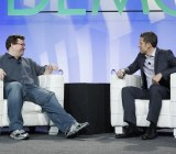 Reid Hoffman, LinkedIn's founder, with VentureBeat's Matt Marshall