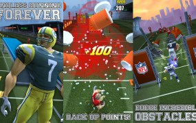 The endless-running football game from Pocket Gems.