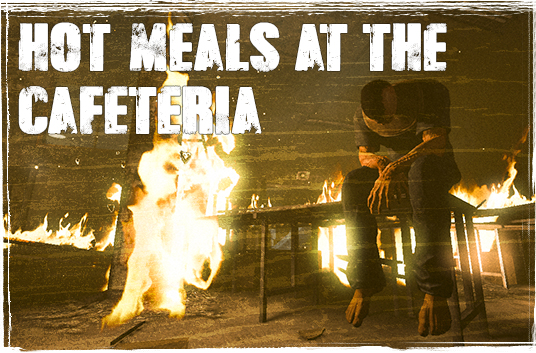 Outlast cafeteria