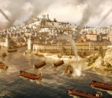 Rome II epic sea battle