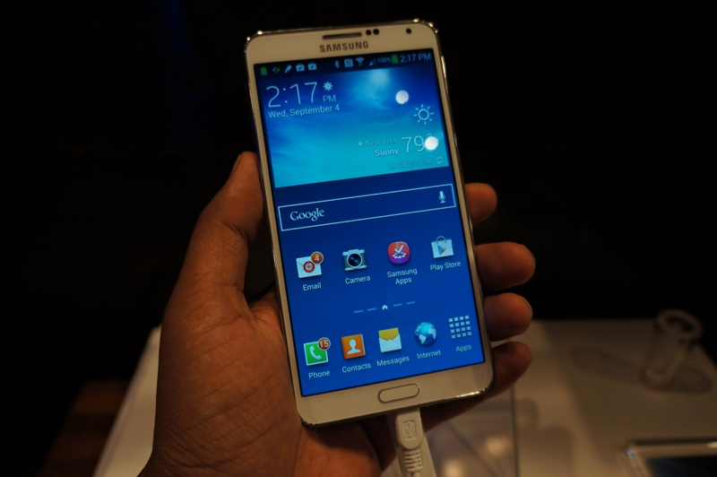Samsung Galaxy Note 3 hands-on 2