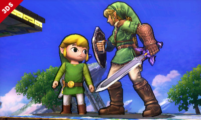 Toon Link faces off against a familiar foe.
