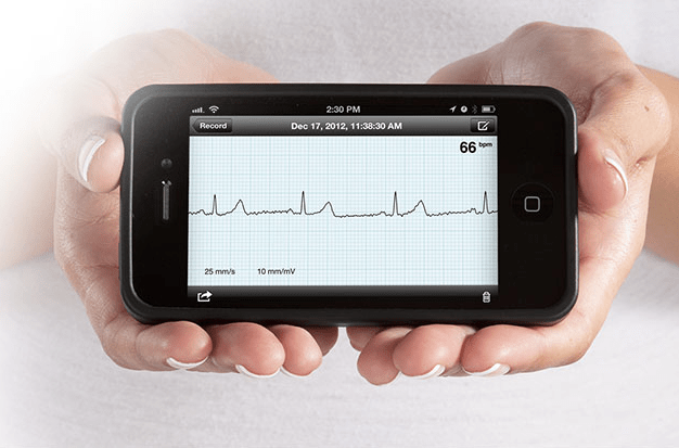 Alivecor is one of thousands of new mobile health apps. It lets you measure your heart rate with an iPhone