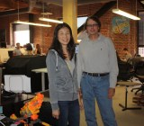Jeannie Yang and Jeff Smith of Smule