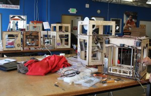 Type A Machines assembles its 3D printers at the San Francisco TechShop.
