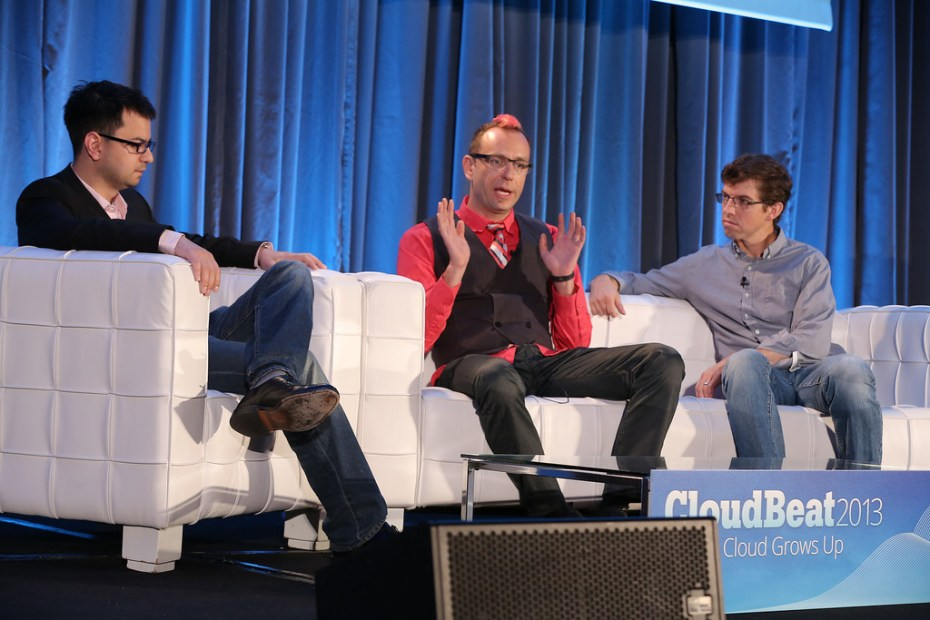 Wanelo Chief Technology Officer Konstantin Gredeskoul speaks about the company's use of Joyent's Manta service at CloudBeat on Tuesday.