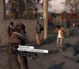 Hacking characters in Watch Dogs.