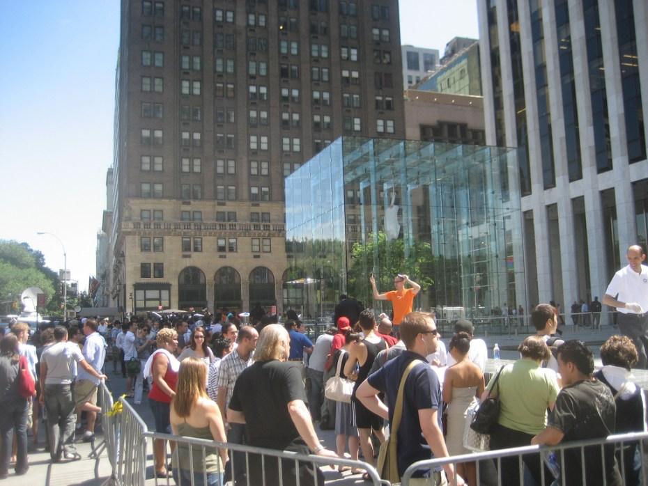 Apple 5th Avenue line