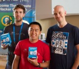 Alex Day, Yiling Hu, and Paypal's head of developer evangelism Jonathan LeBlanc