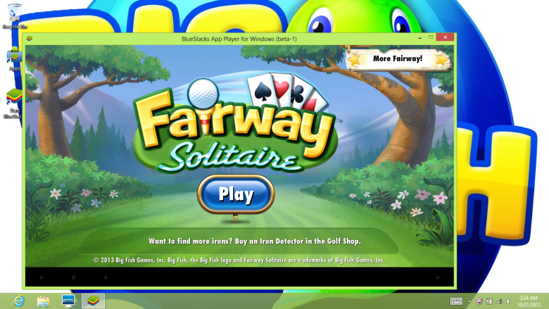 Fairway Solitaire on Big Fish Games' PC app runs on Cocos2d-X tech.