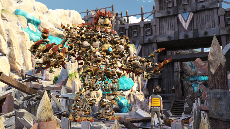 Full-grown Knack is scary.