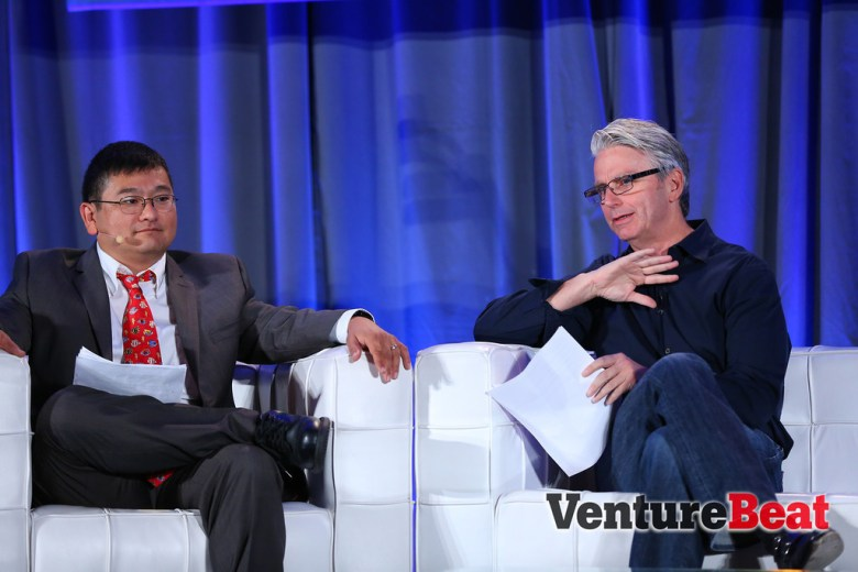 Ex-EA CEO John Riccitiello came to GamesBeat 2013 with plenty of stats about the games industry -- and even compared Grand Theft Auto V to the Super Bowl.