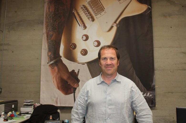 Laurent Detoc, president of Ubisoft North America