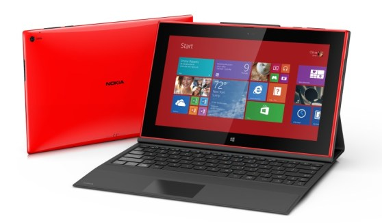 The Nokia Lumia 2520 tablet