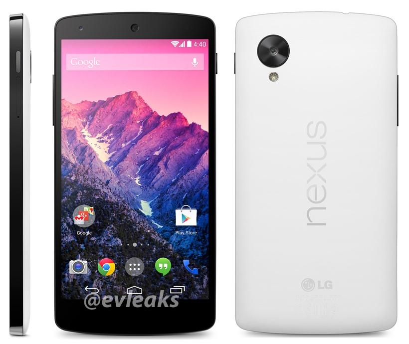 Nexus 5 in white