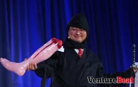 Ninja Dean Takahashi's deadliest weapon? His smile.