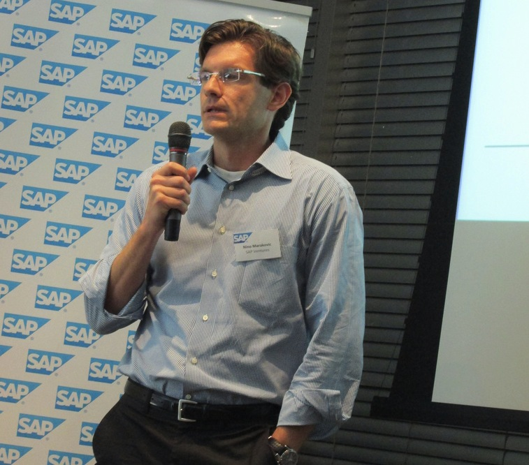 SAP Ventures managing partner Nino Marakovic.