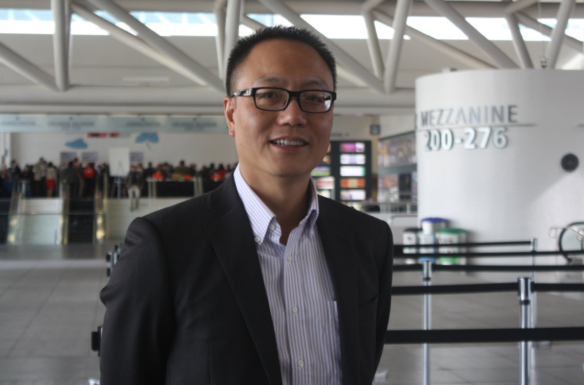Robert Xiao, CEO of Perfect World.