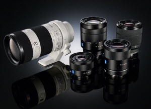 New Sony lenses