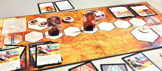 BattleCon: Devastation of Indines board