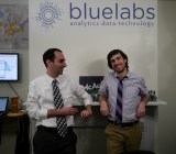 BlueLabs cofounders Elan Kriegel, left, and Chris Wegrzyn.