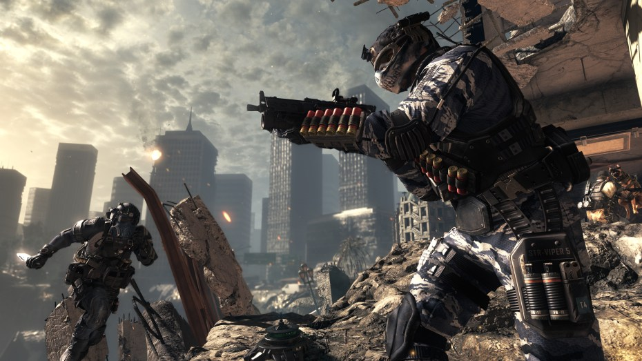 Call of Duty: Ghosts in action.