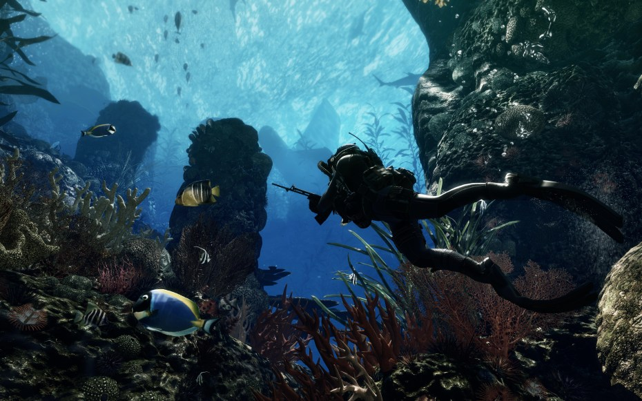 Call of Duty: Ghosts underwater mission