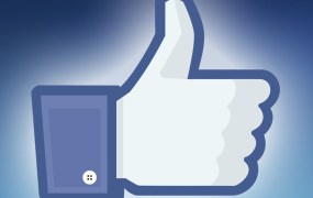 "Facebook's iconic ""like"" symbol"